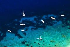 Ilha de Capri foto de stock