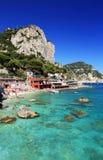 Ilha de Capri foto de stock royalty free