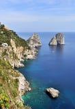 Ilha de Capri fotografia de stock royalty free