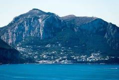 Ilha de Capri da paisagem, Itália Imagem de Stock Royalty Free