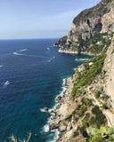 A ilha de Capri, Itália Imagem de Stock