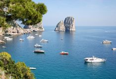 Ilha de Capri, Italy Fotografia de Stock