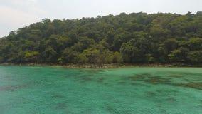 Ilha de Chang do Koh em Tailândia vídeos de arquivo