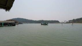 Ilha de Chang do Koh em Tailândia video estoque