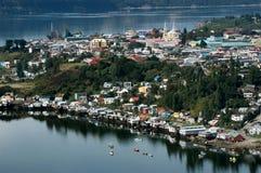 Ilha de Chiloe, o Chile Ámérica do Sul fotografia de stock royalty free