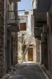 Ilha de Chios, Pyrgi Foto de Stock