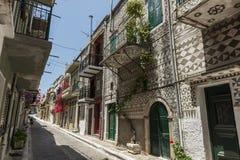 Ilha de Chios, Pyrgi Imagem de Stock Royalty Free
