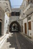 Ilha de Chios, Pyrgi Imagens de Stock Royalty Free