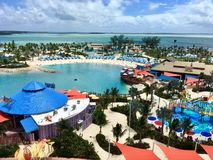 Ilha de CocoCay, Royal Caribbean imagem de stock