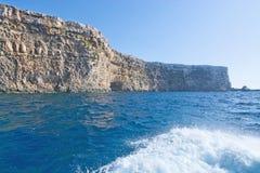 Ilha de Comino Fotografia de Stock