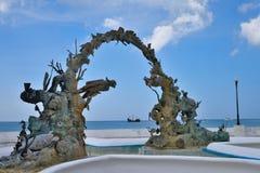 Ilha de Cozumel fotos de stock