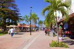 Ilha de Cozumel, México foto de stock
