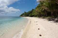 Ilha de Dalupirit Foto de Stock Royalty Free