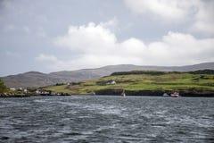 Ilha de Dunvegan do Loch da paisagem de Skye Scotland Great Britain 3 fotografia de stock royalty free