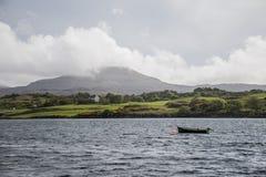 Ilha de Dunvegan do Loch da paisagem de Skye Scotland Great Britain 2 imagens de stock royalty free