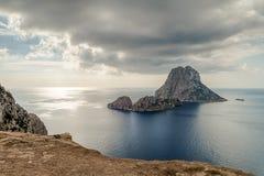 A ilha de Es Vedra Foto de Stock
