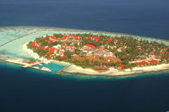 Ilha de férias imagem de stock royalty free