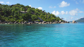 Ilha de Felicite fotos de stock