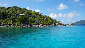 Ilha de Felicite fotografia de stock royalty free