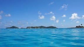 Ilha de Felicite imagens de stock
