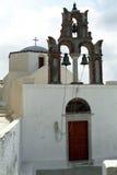 Ilha de Fira Santorini, Grécia Imagem de Stock Royalty Free