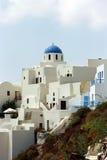 Ilha de Fira Santorini, Grécia Foto de Stock