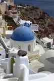 Ilha de Fira Santorini, Grécia Imagens de Stock Royalty Free