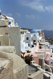 Ilha de Fira Santorini, Grécia Imagens de Stock