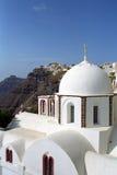 Ilha de Fira Santorini, Grécia Fotos de Stock Royalty Free