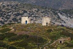 Ilha de Fourni imagens de stock royalty free