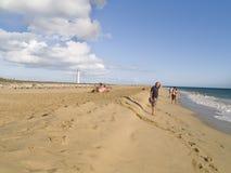 Ilha de Fuerteventura, Espanha Fotografia de Stock