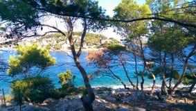 Ilha de Galesnik Imagem de Stock
