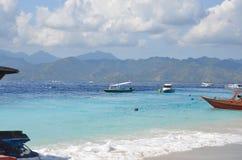 Ilha de Gili, Indonésia Fotos de Stock Royalty Free