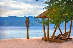 Ilha de Gili Trawangan, Lombok, Indonésia imagens de stock royalty free