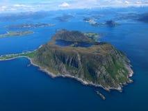 Ilha de Godoeya foto de stock
