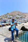 Ilha de Grécia Foto de Stock