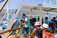 Ilha de Grécia Imagem de Stock Royalty Free