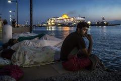 Ilha de Grécia - de Kos imagem de stock