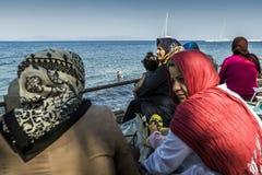 Ilha de Grécia - de Kos imagens de stock