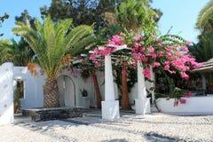 Ilha de Grécia Santorini Fotos de Stock Royalty Free