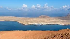 Ilha de Graciosa do La, Lanzarote, Ilhas Canárias, Espanha imagens de stock