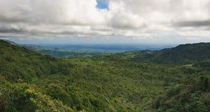 Ilha de Granada - Anse grande e os diabos latem - parque nacional grande de Etang Imagem de Stock Royalty Free