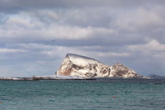 Ilha de Håja, arredores de Tromso, Noruega Foto de Stock Royalty Free