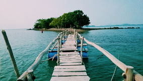 Ilha de HaiTac Foto de Stock Royalty Free