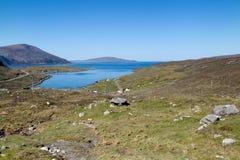 Ilha de Harris, paisagem natural Imagem de Stock Royalty Free