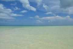Ilha de Holbox na província de Quintana Roo em México imagens de stock