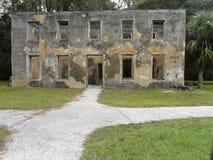 Ilha de Horton House Historic Site Jekyll imagem de stock royalty free