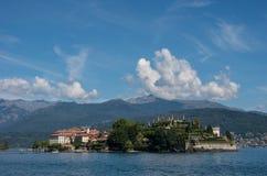 Ilha de Isola Bella no lago Maggiore, ilhas de Borromean, Stresa P foto de stock royalty free