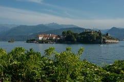 Ilha de Isola Bella no lago Maggiore, ilhas de Borromean, Stresa Piedmont Itália foto de stock