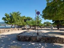 Ilha de Itsukushima, Jap?o imagens de stock royalty free